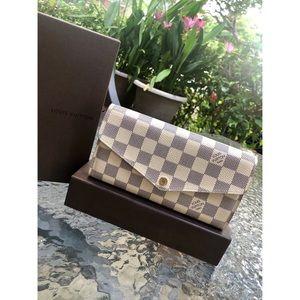 Louis Vuitton Sarah Damier Azur Wallet